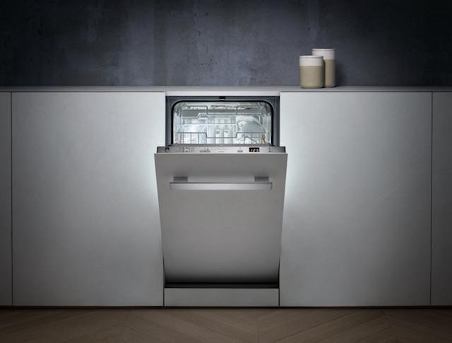 Slimline Dishwasher, Miele, kitchens