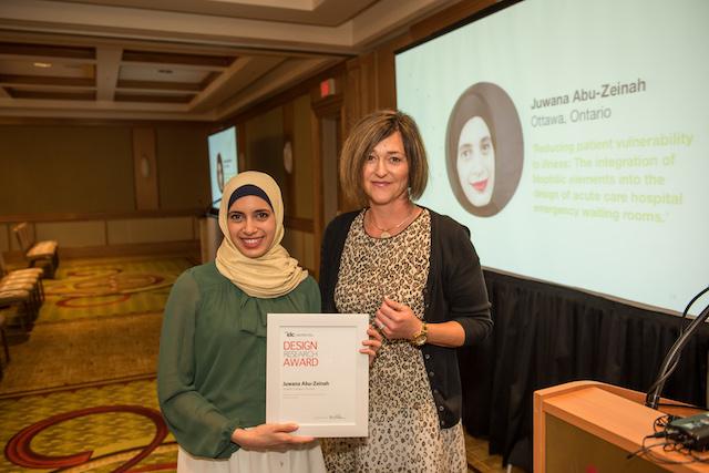 Juwana Abu-Zeinah (left) and Katie Lind, Milliken (right).
