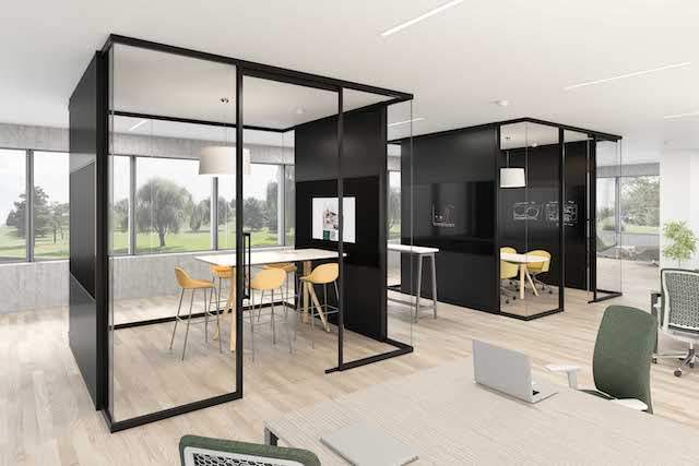 Tek Vue: Teknion introduces new glass office-front system