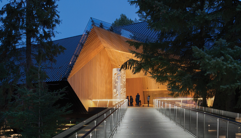 Audain Art Museum, Patkau Architects