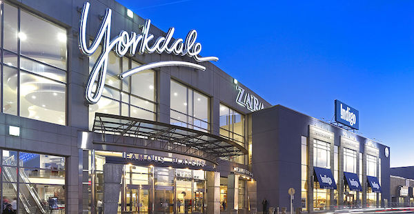 Toronto's leading Yorkdale mall is among the first in Canada to offer gender neutral bathrooms. Photo via Oxford Properties. Toronto's leading Yorkdale mall is among the first in Canada to offer gender neutral bathrooms. Photo via Oxford Properties.