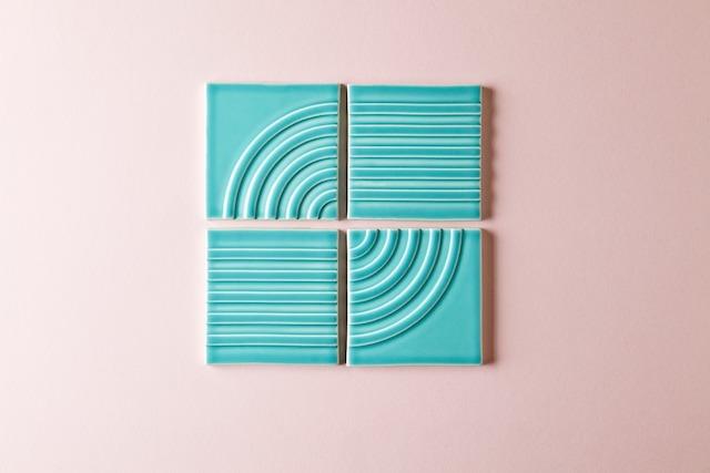 Clayhaus Modern Tile, Kristine Morich, Signal TIle