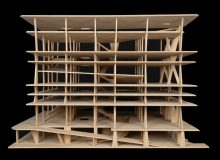 Herzog & de Meuron (Basel, est. 1978). 1111 Lincoln Road, Miami Beach, Florida, USA. 2005–2008. Exhibition model, scale 1:90. Oak, 18 11/16 × 26 × 22 1/16″ (47.5 × 66 × 56 cm). The Museum of Modern Art, New York. Gift of the Jacques Herzog and Pierre de Meuron Kabinett. Photo © Jacques Herzog und Pierre de Meuron Kabinett, Basel.