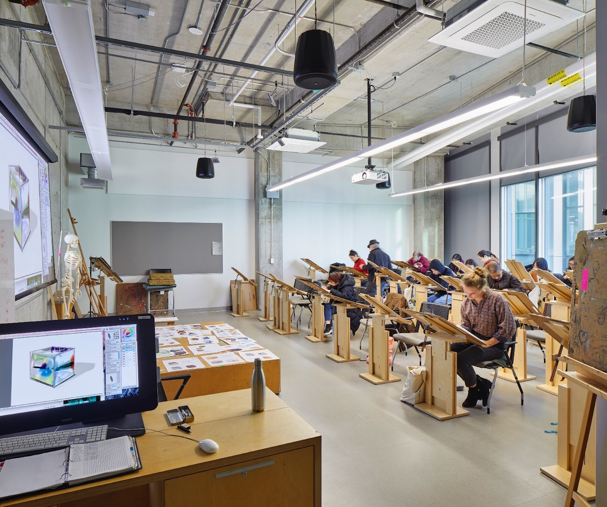 george brown college interior design program