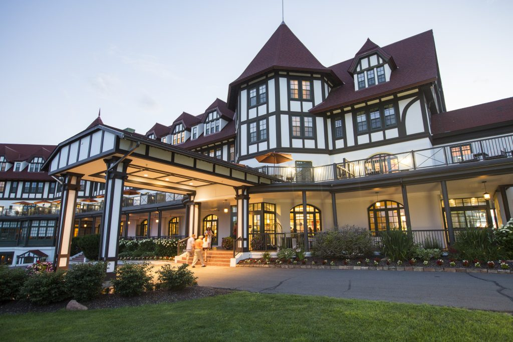 The Algonquin Resort in Saint Andrews, N.B.