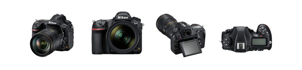 Four different cameras