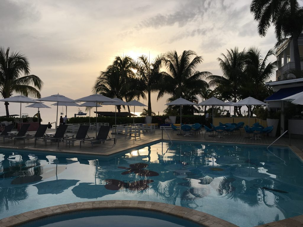 Seven Mile Beach Azul Beach Resort Negril Jamaica pool sunset