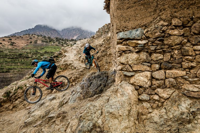 mountain biking, Morocco