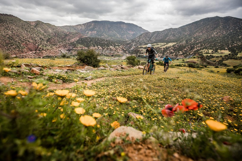 mountain biking, Morocco