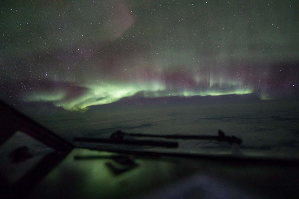 flight, aurora borealis, Yukon, Aurora 360, cockpit