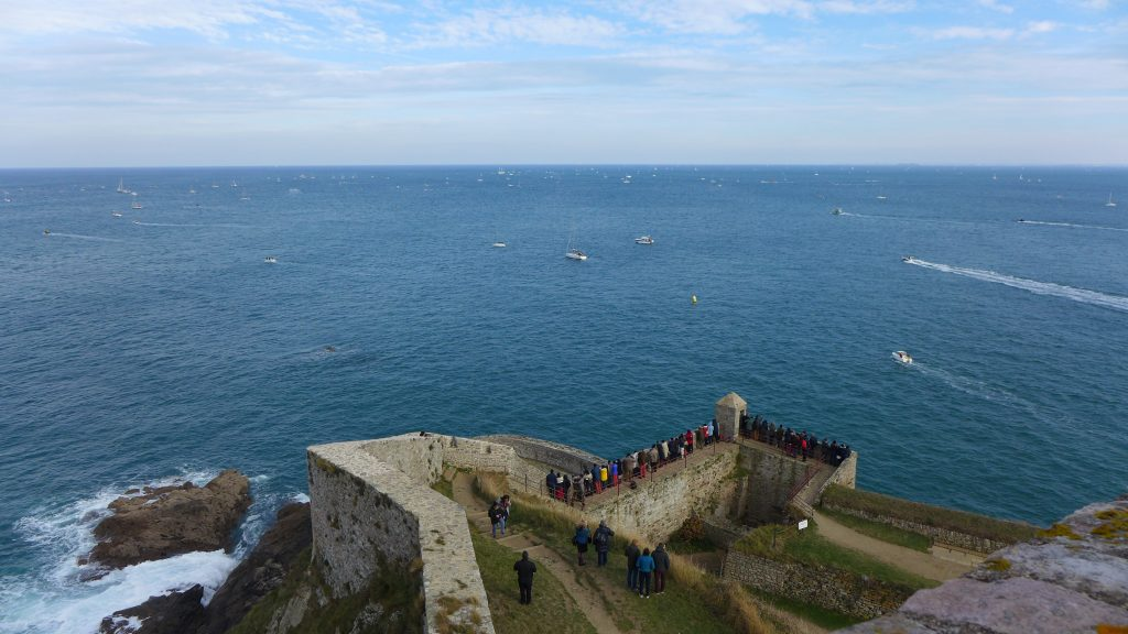 Fort la Latte, Route du Rhum, sailing, France