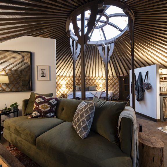 Woods Parka Lodge, yurt, Haliburton Highlands, Airbnb