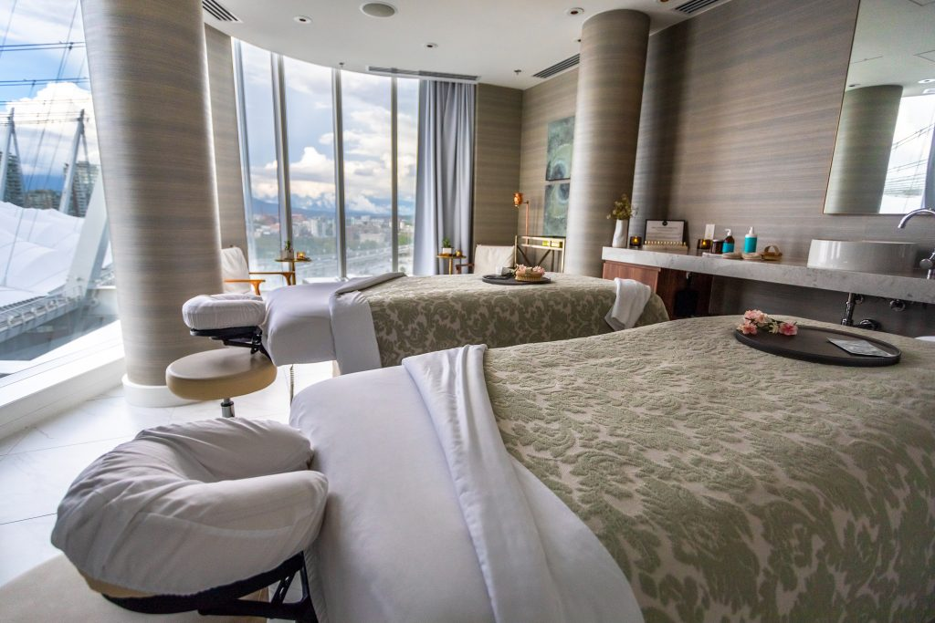 Vancouver, wellness, spa, JW Marriott, Spa by JW