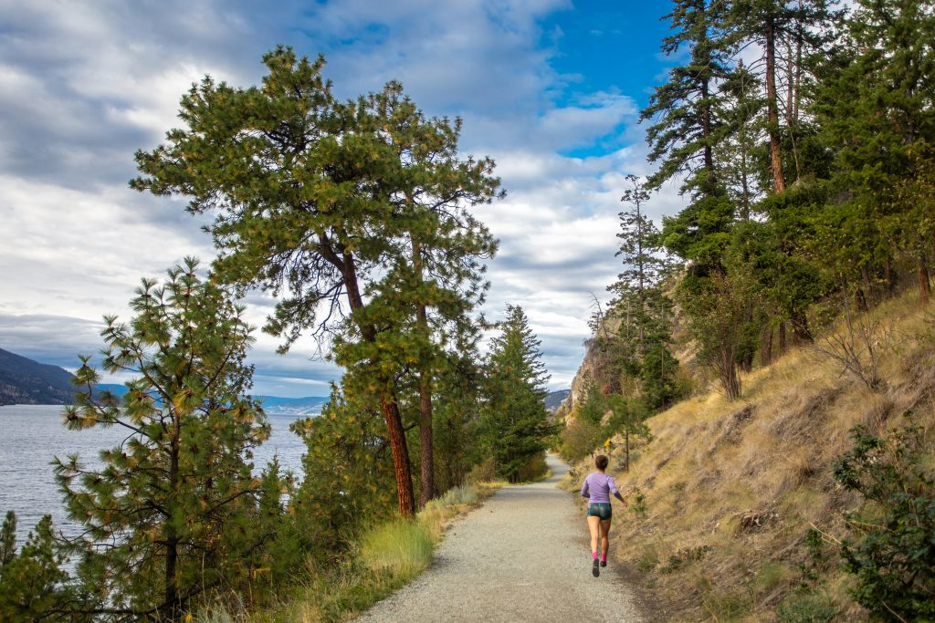 wellness, Kelowna, running, Knox Mountain