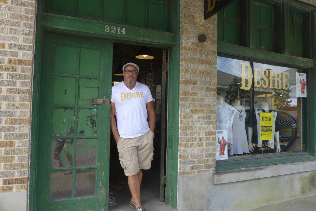 Alton Osborne, Desire Street, New Orleans
