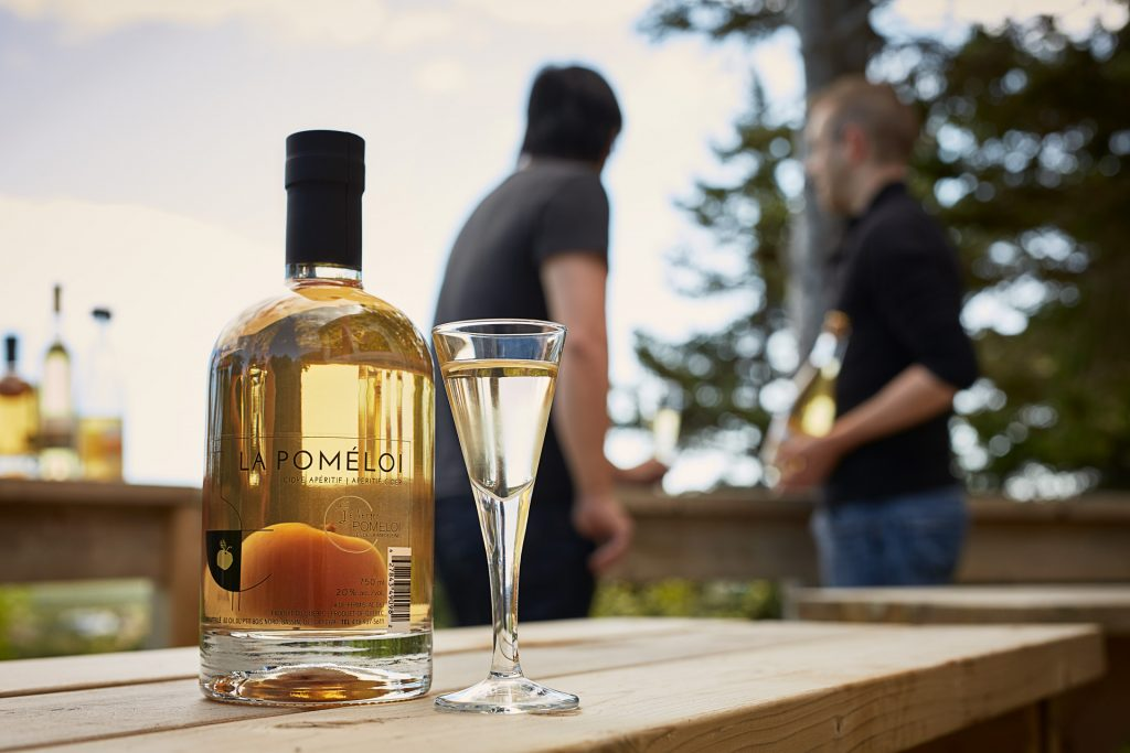 cidery, distillery, Magdalen Islands, La Poméloi, liqueur