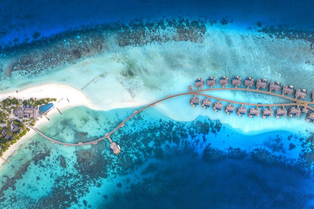 Joali, Maldives, aerial, drone, Neil Dankoff