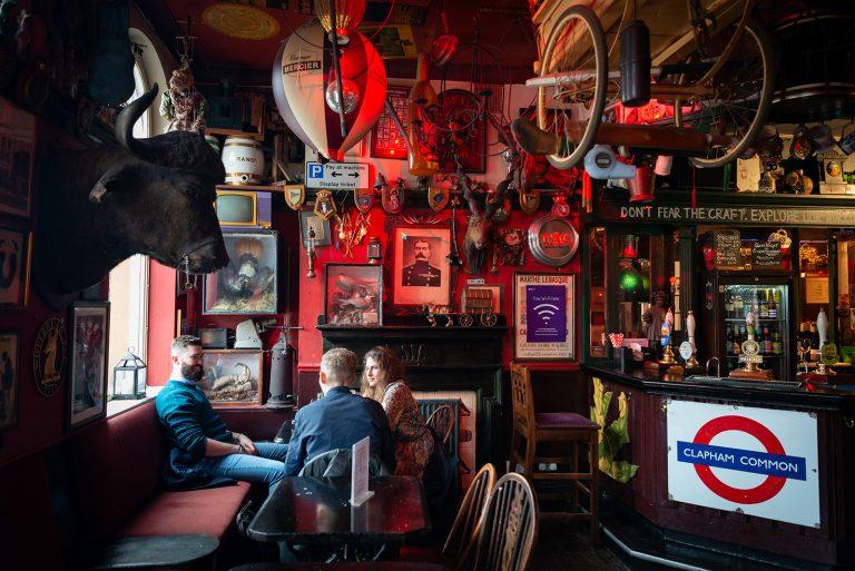 Prince of Wales pub, Clapham, London