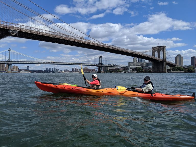 Kayaking Manhattan
