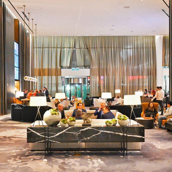 JW Marriott Edmonton lobby