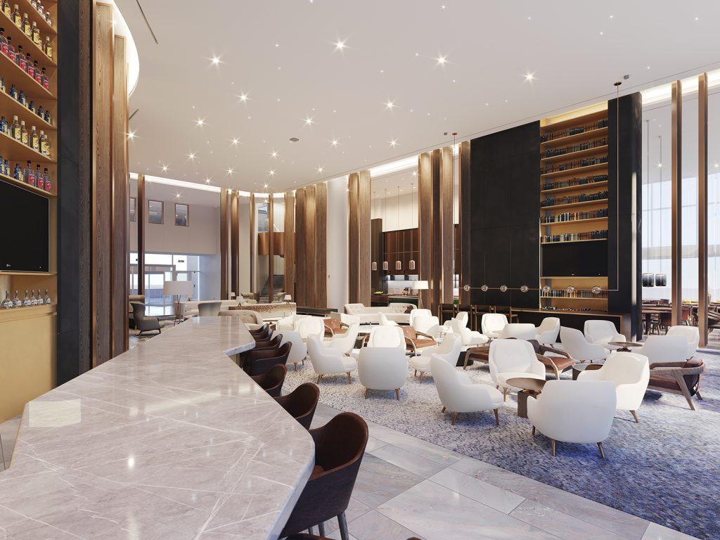 JW Marriott Edmonton Lobby Bar