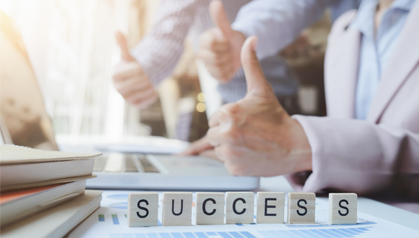 Thumbnail Recognizing Success