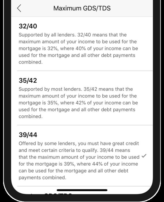 Debt Service Settings