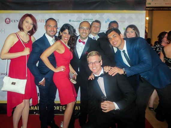 Canadian Mortgage App awards team