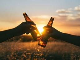 Drinking under the sun