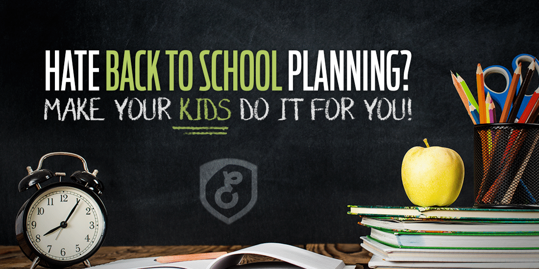 Hate Back to School Planning?