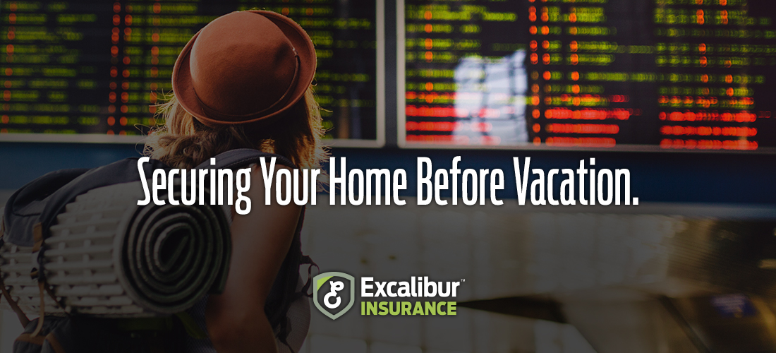 Securing Your Home Before Vacation