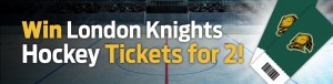 Win London Knights Hockey Tickets For Two