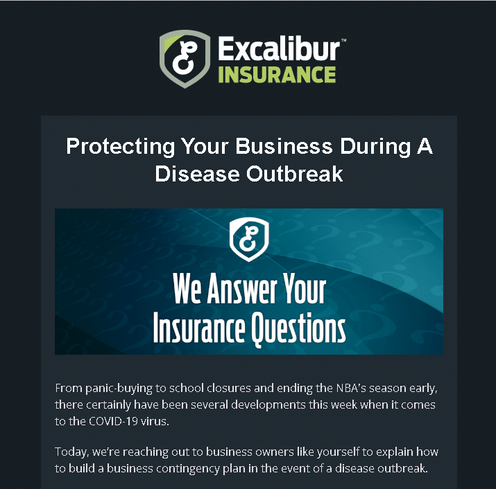 How to Protect Your Business During an Outbreak – Special Newsletter