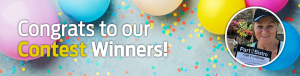 Congrats to our contest winners!
