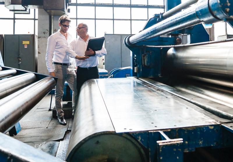 manufacturing businessmen