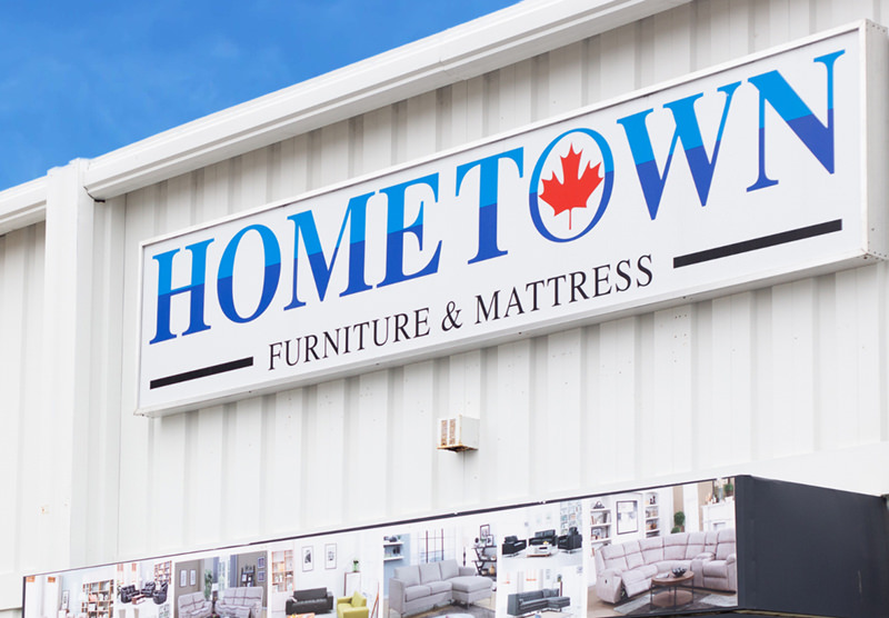 hometown furniture and mattress retail store