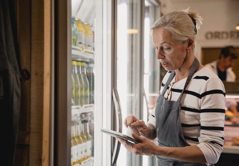 inventory clerk at refridgerator
