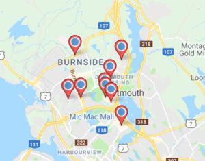 find a retailer map