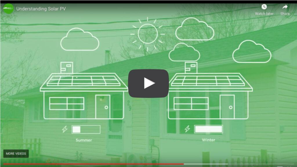 Solar homes video screenshot