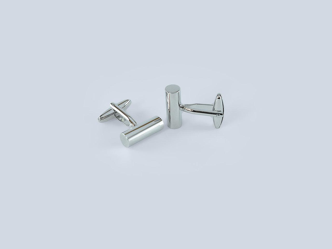 Steel Bar Cufflinks