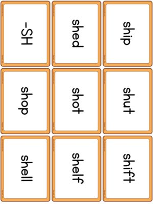 Preview of Word cards