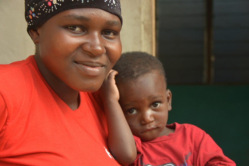 A Home and a Family for a Displaced Mother