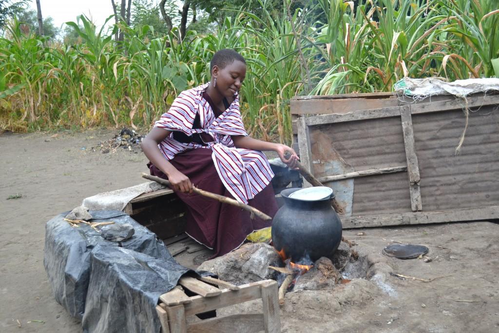 Dora, a Maasai Youth