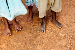 Indian childrens feet