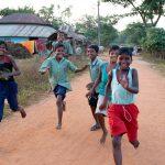 Indian Children Running