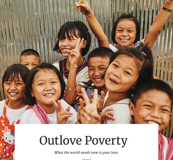 Outlove Poverty - Compassion Canada gift Guide 2020