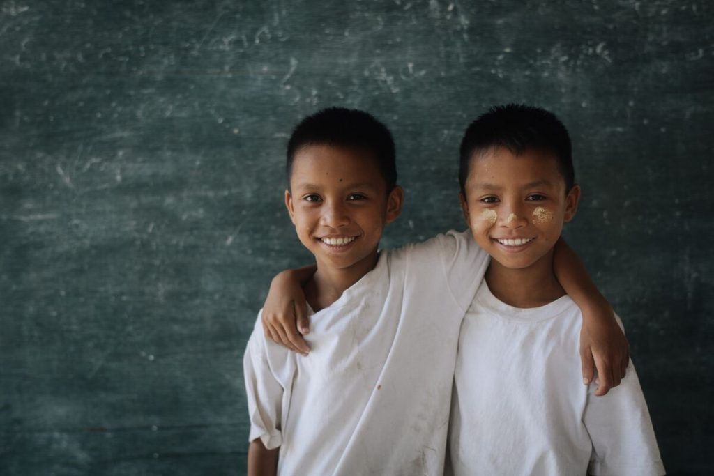 Twin brothers, Soi Go-Go and Soi Yee-Yee together their Compassion centre.