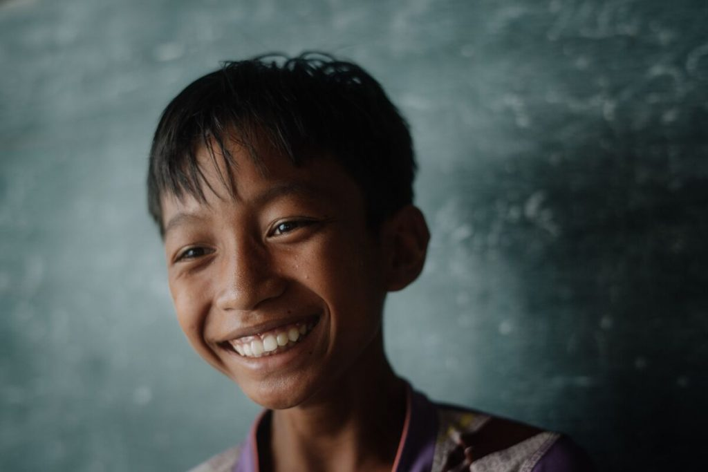 Gungmae-ou is excited for opportunities to come for he and his little brothers because of the Compassion centre.