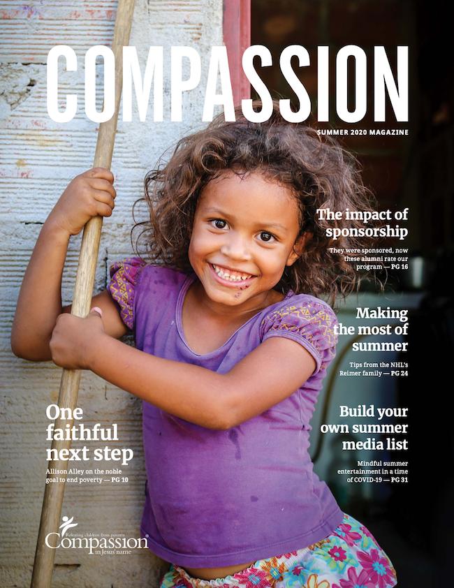 Compassion magazine cover