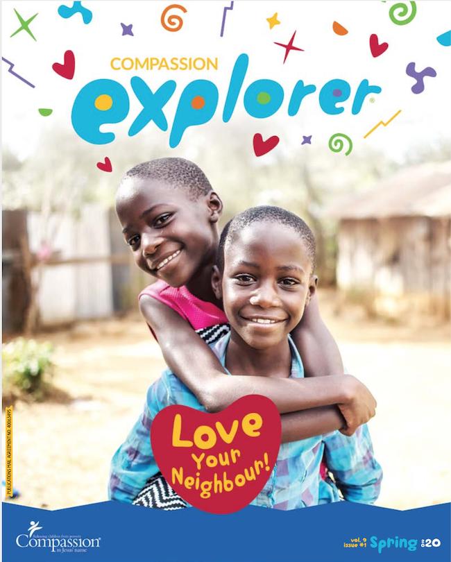Explorer Magazine cover